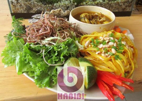 Mỳ Quảng Ếch - món bổ dưỡng mới ở Hoàng Bèo Duy Tân