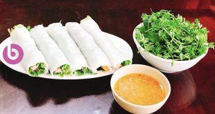 Hoàng Bèo giảm giá 50% món mới Bánh ướt thịt nướng